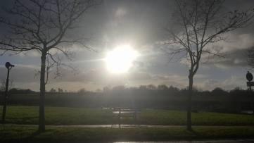 Sonne über Greetsiel